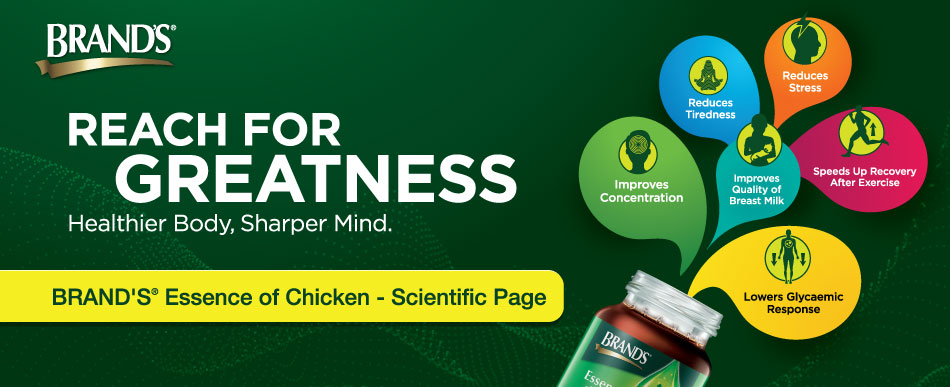 BRAND'S Essence of Chicken - Scientific Page