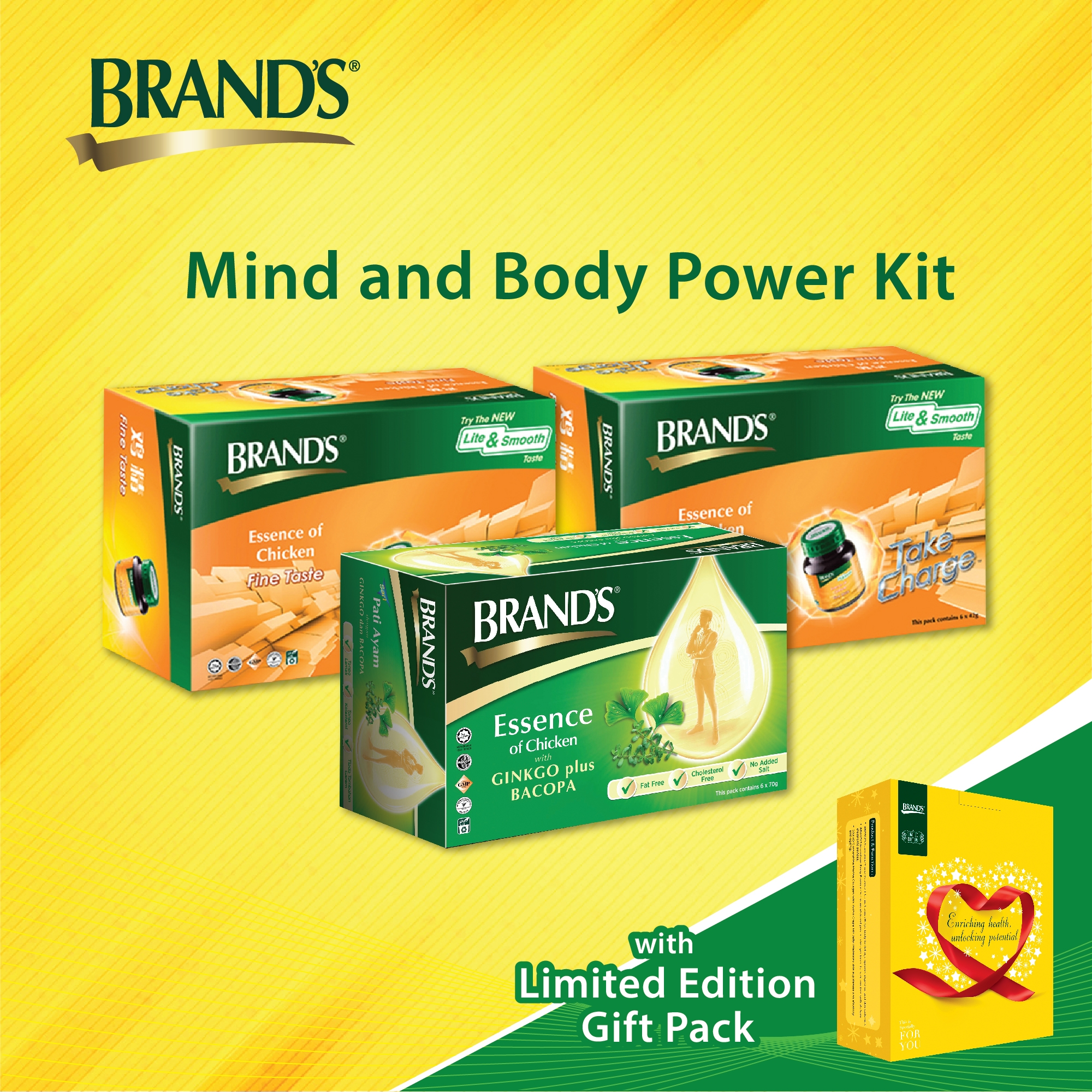 Mind And Body Power Kit