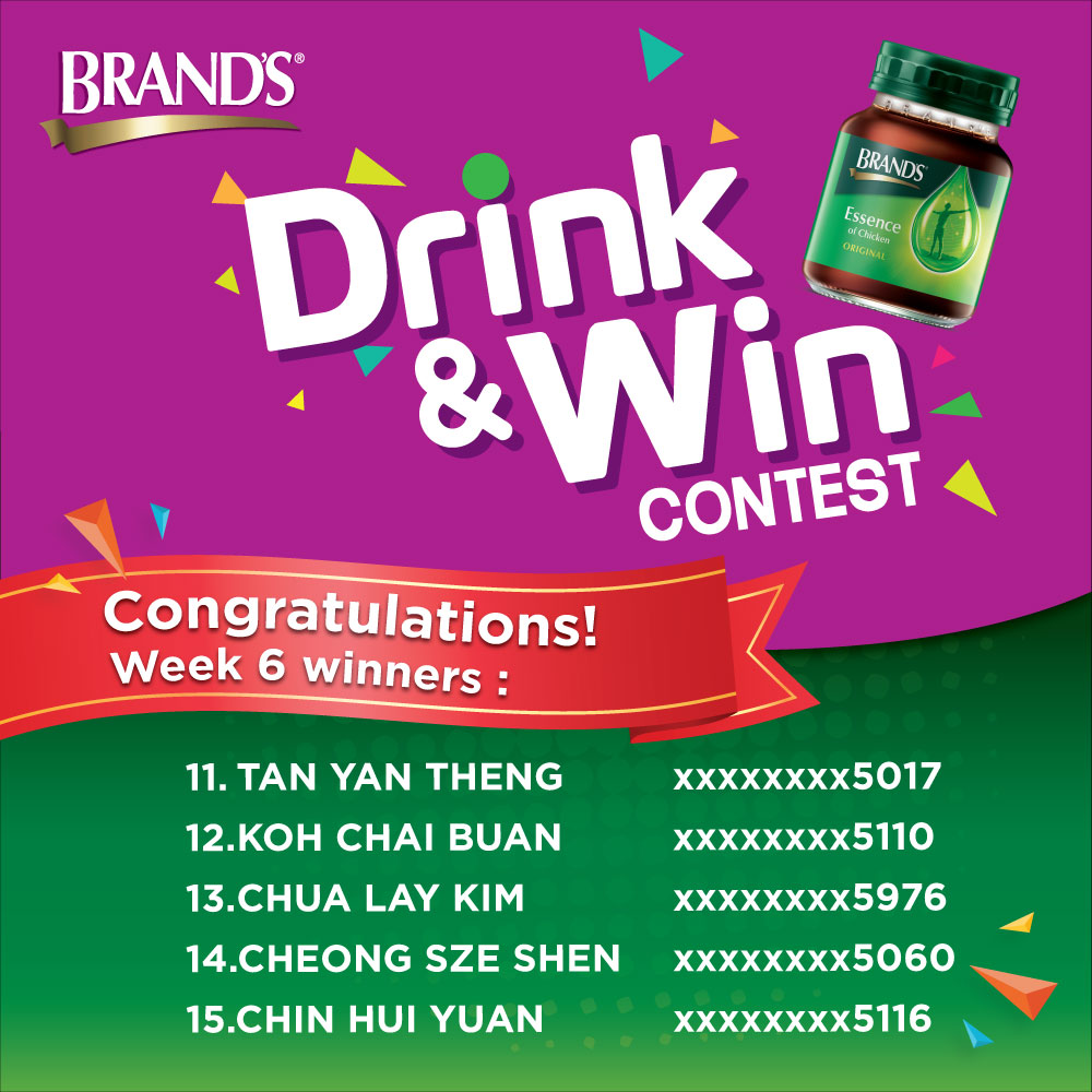 BRAND'S Drink & Win