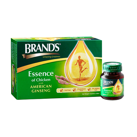 BRAND'S Essence of Chicken with American Ginseng 6s x 68ml