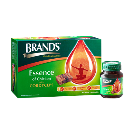 BRAND'S Essence of Chicken with Cordyceps — 6s x 68ml